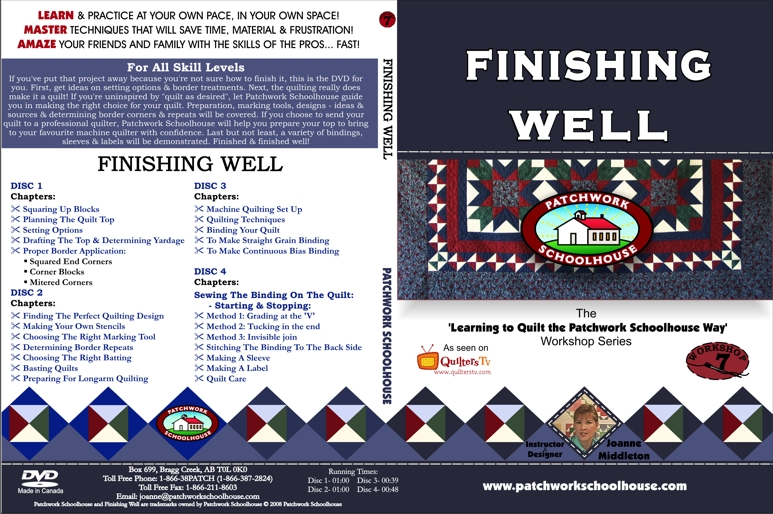 Finishing Well DVD